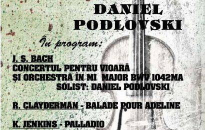 Concert aniversar DANIEL PODLOVSKI la Târgu Jiu