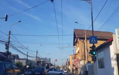 Au reparat semafoarele cu buton din Târgu Jiu
