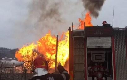 Amenzi de 21 mii de lei după incendiul de la Hurezani