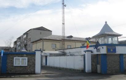 Protest la Penitenciarul Targu Jiu