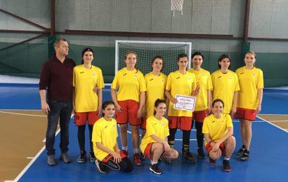 Performanță la baschet fete gimnaziu! Felicitări C.N.T.V. !!!!
