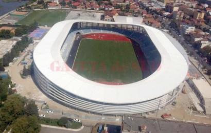 Nu se mai știe nimic de recepția Stadionului Municipal din Târgu Jiu