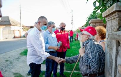 Nevoile locuitorilor din Turcinești, pe lista candidatului PSD