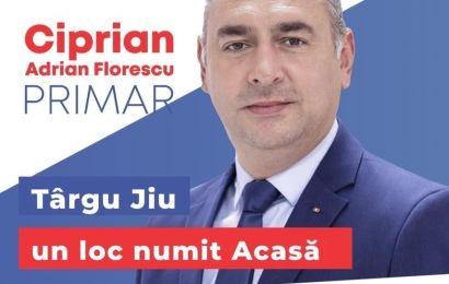 """Ciprian Florescu, candidatul PSD la Primăria Municipiului Târgu Jiu: """"Împreună, readucem orașul pe drumul cel bun!"""""""