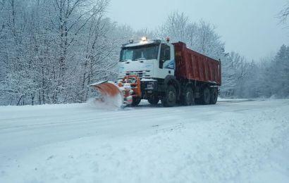 Autoritățile județului Gorj se pregătesc de iarnă