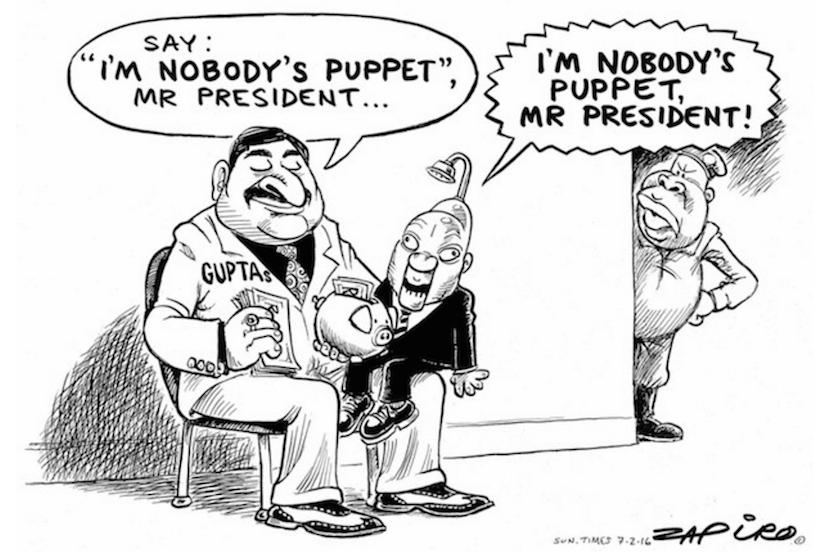 The letter Zuma will never write