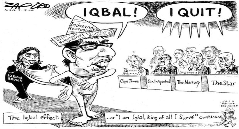 Iqbal Survé: SA media's Walter Mitty who got R900m from