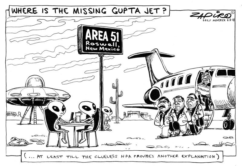 Epic 'Shaun the sheep' fail! SA taxpayers must foot legal