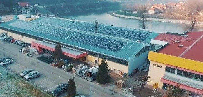 Prva solarna elektrana u Zenici: Firma na krovu zgrade proizvodi struju