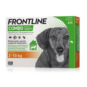 Frontline combo spot-on per cani 2-10 kg 3 pipette