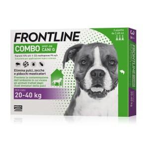 Frontline combo spot-on per cani 20-40 kg 3 pipette