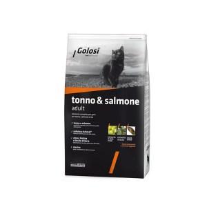 golosi tonno & salmone adult croccantini per gatti da 7.5 kg