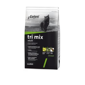 Golosi tri mix adult croccantini per gatti da 7.5 kg