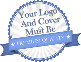 Your logo and cover must be premium quality