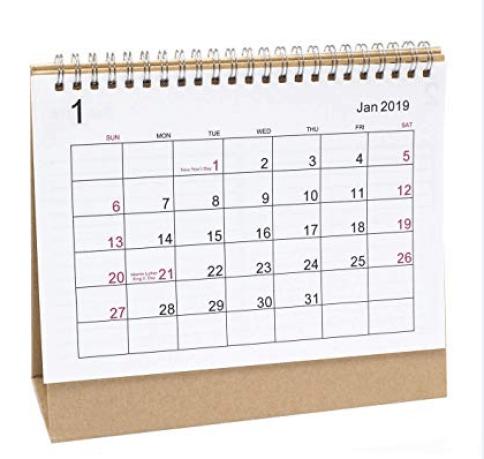 Bizop- Desktop Calendar