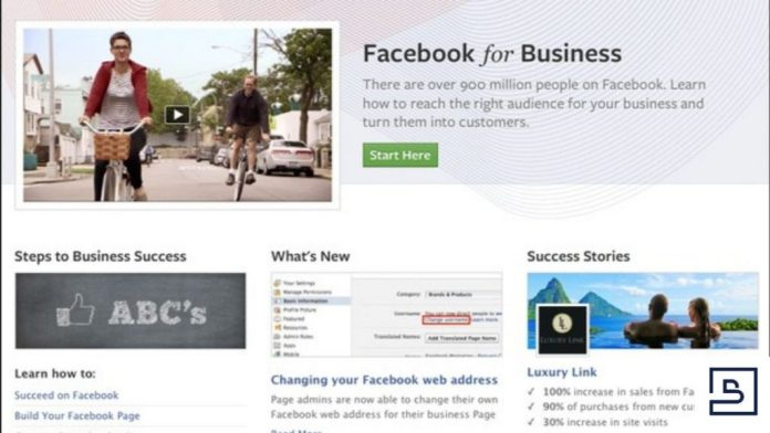 Sample Facebook Business Page