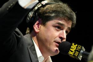 Radio Talk Host Sean Hannity Live in Los Angeles