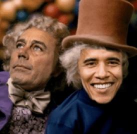 Barack O'Wonka?
