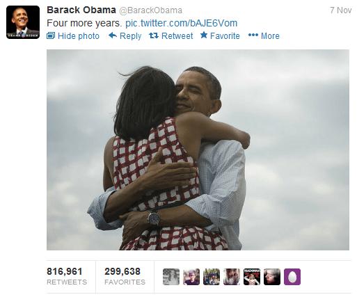 Obama retweet