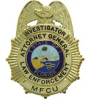 Medicaid Fraud Badge