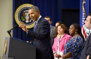 Obama pep rally