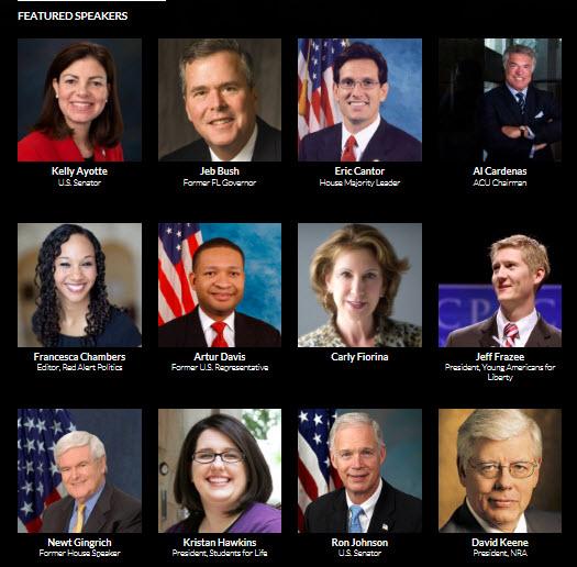 CPAC2013 speakers