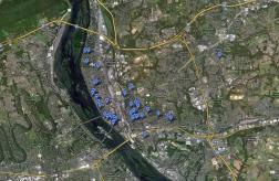google map sinkholes