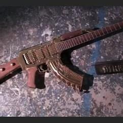 Biz Chair Com Ball For Back Pain Grammy Award-winning Singer Has Insane Ak-47 Guitar Custom Built Conservative News Today