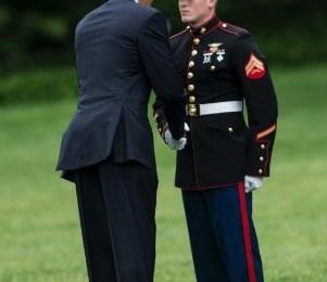 obama marines
