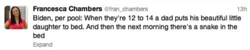 Francesca tweet
