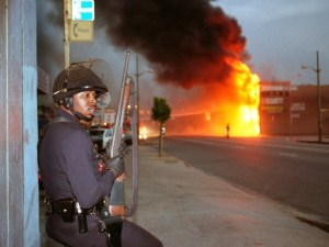 Photos of the 1992 LA Riots