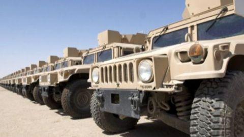 GMV armored vehicles