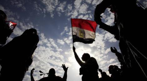 muslim brotherhood flag-waving