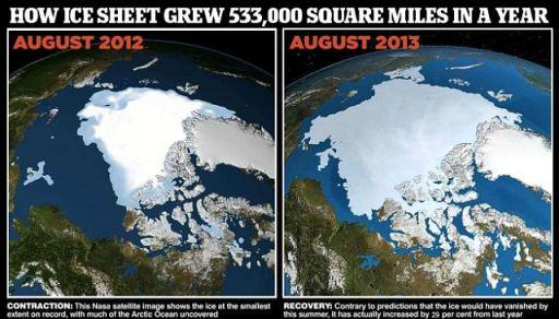 Artic icecap