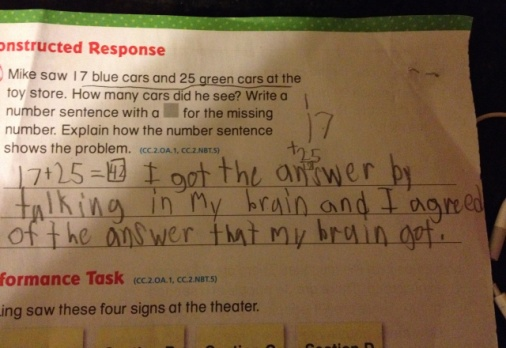 Kid's wise answer to Common Core math problem has grown-ups cheering