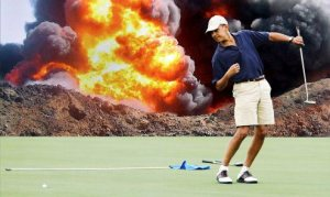 Obama-golf-burn