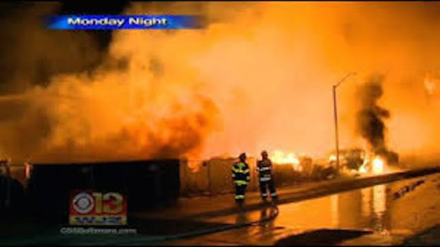 Baltimore fire