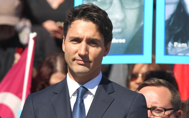 Canadian Prime Minister Justin Trudeau, credit Shutterstock.