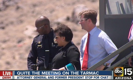 Loretta Lynch SUED for details over secret tarmac meeting ...