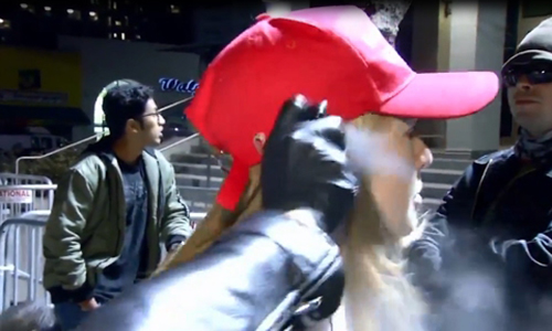 Woman pepper sprayed in face at Berkeley identifies