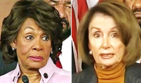 Image result for photos of Maxine Waters and Pelosi together