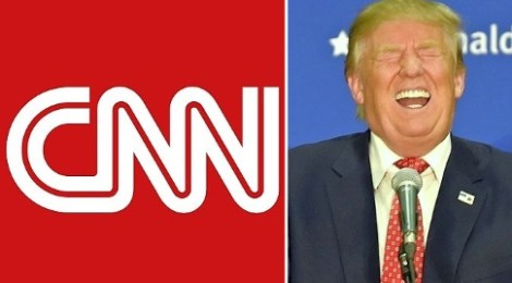 screenshot trump calls cnn fake news