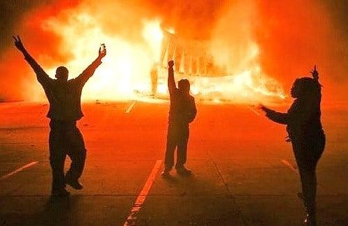black lives matter ferguson riots