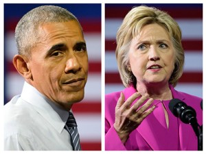 Obama Clinton Shutterstock