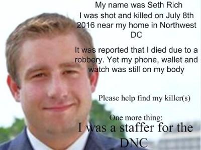 seth rich murder dnc staffer hillary clinton body count screenshot