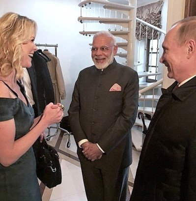 megyn kelly vladimir putin dress interview