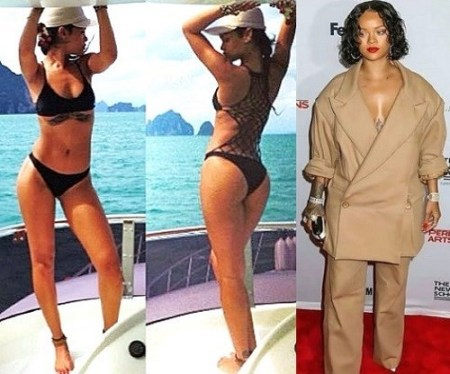 sg sg instagram rihanna weight gain 2017 fat before after gucci mane rihanna thick