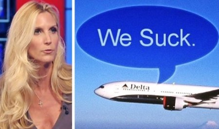 ann coulter says delta airlines targeted republicans