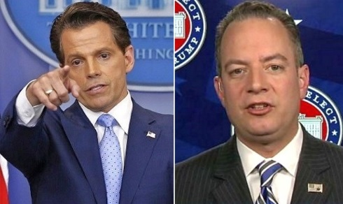 Priebus Cast Out? Scaramucci Fires Warning Shots