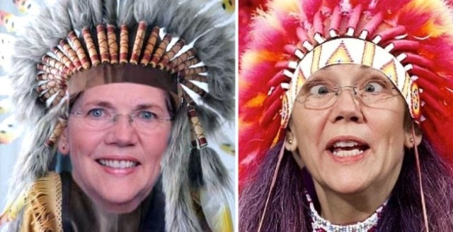 elizabeth warren indian native american lie